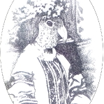 Alice in a Parrot Mask.